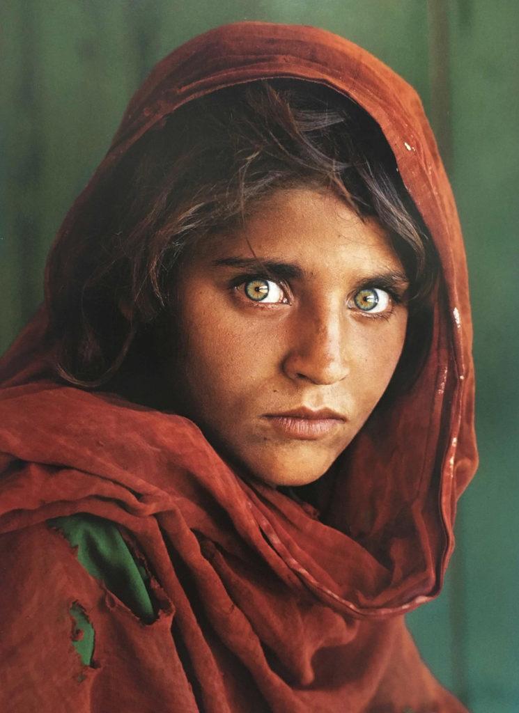 スティーヴ・マッカリーのアフガニスタンの少女