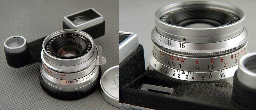 Leica summicron 35/2 八枚