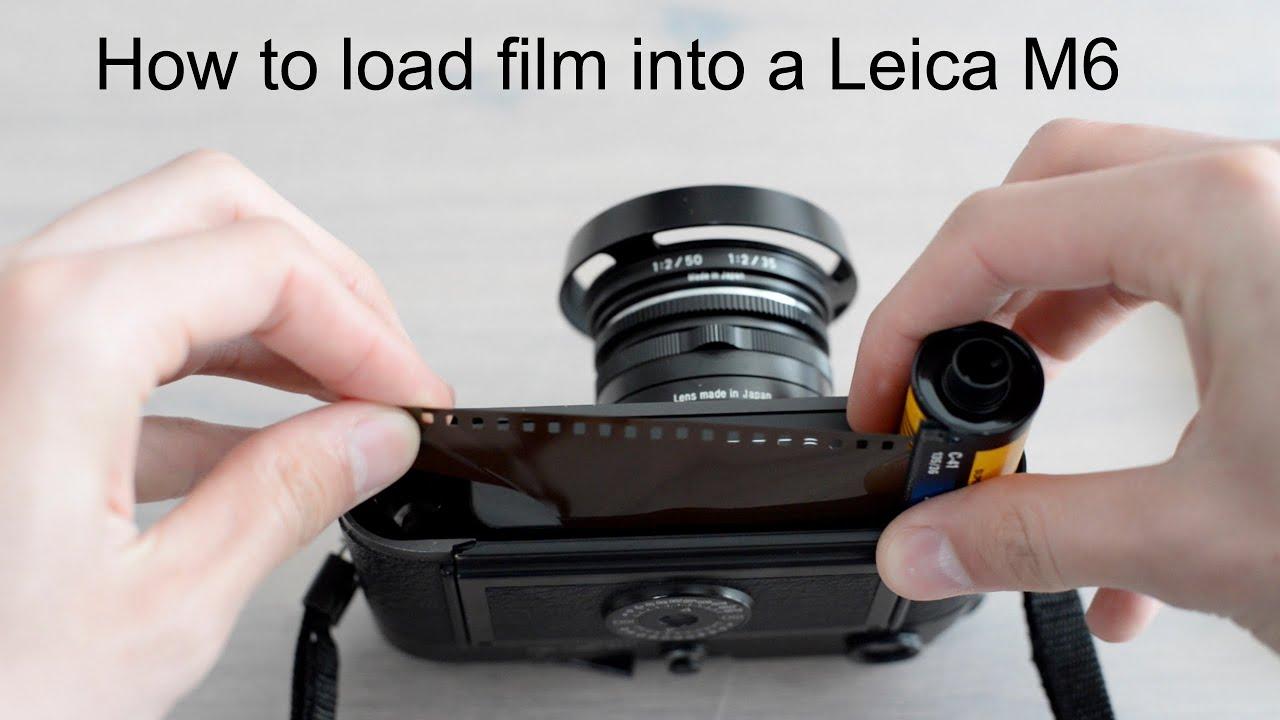 ライカM6フィルム装填