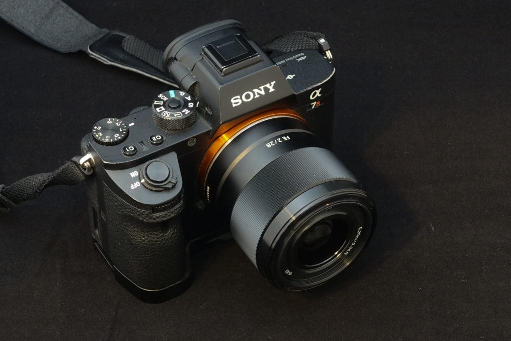 ソニーFE28mm F2.0 + α7RII
